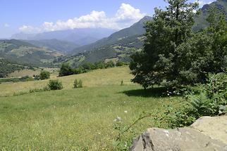 Landscape near Mogrovejo