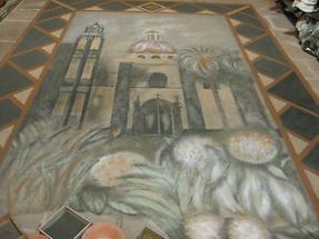 La Orotava - Casa de los Balcones - Sandteppich