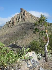 Roque de Jama - Blick vom Mirador de la Centinela (1)