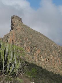 Roque de Jama - Blick vom Mirador de la Centinela (2)