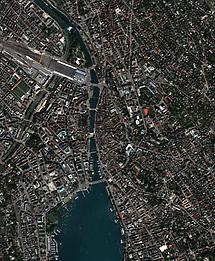 Zürich, Satellite Image