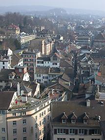 Zurich, Aerial view