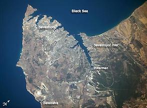 The port city of Sevastopol
