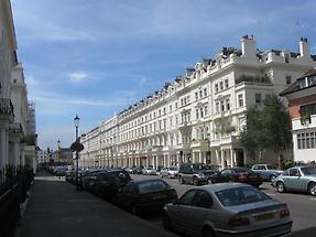Queens Gate Terrace in London