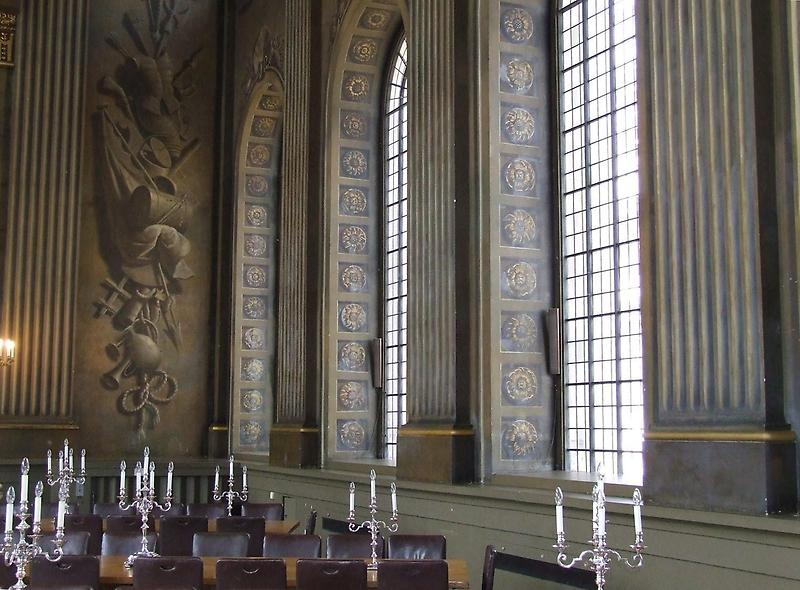 Section of the Painted Hall
