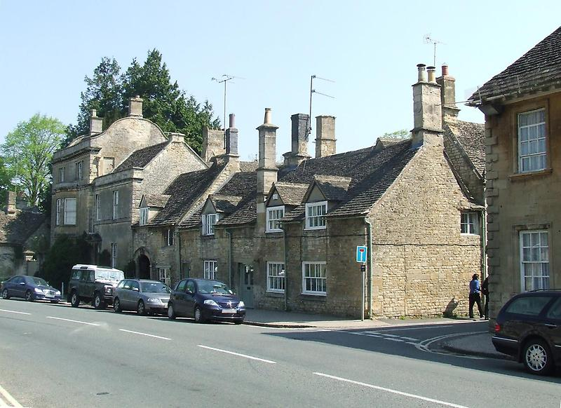 Closely packed houses, Burford