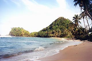 Beach near Pago Pago