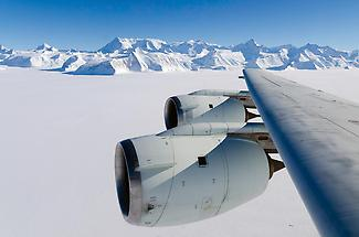 Vinson Massif seen from the air