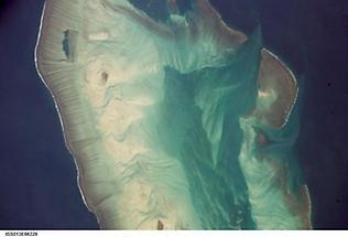 Close-up of Ashmore Island