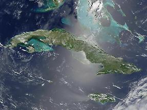 Cuba and Jamaica