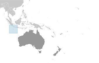 Christmas Island in Australia