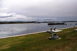 Stanley shoreline view