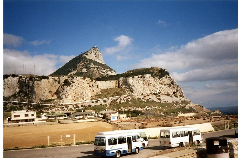 Rock of Gibraltar, view from south side