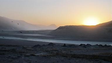 Sunrise at Kangerlussuaq