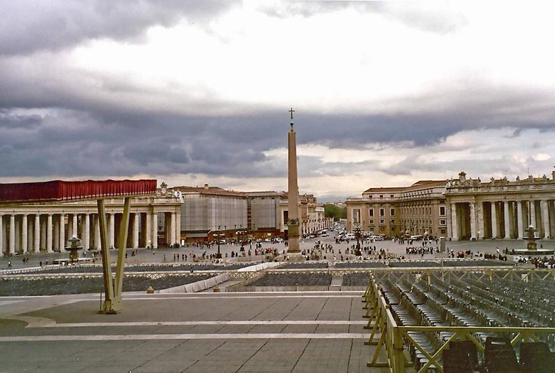 Obelisk, St. Peters Square