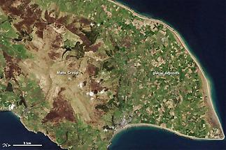 Northern end of the Isle of Man