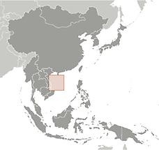 Paracel Islands in East And SouthEast Asia