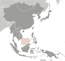 Spratly Islands in East And SouthEast Asia