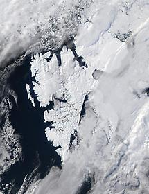 Island of Svalbard