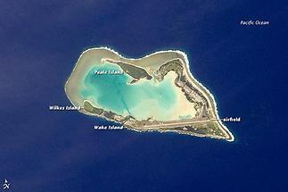 The atoll of Wake Island