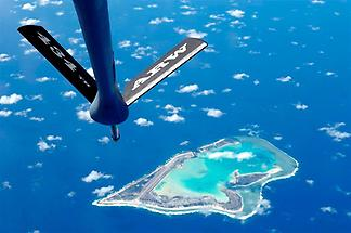 Dramatic photo of Wake Island