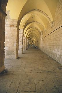 The Dome of the Rock, hallway