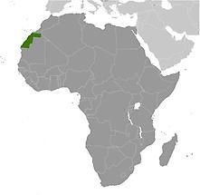 Western Sahara in Africa