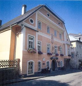 Gasthof blaue traube heimatlexikon kunst und kultur im for Haus bad aussee