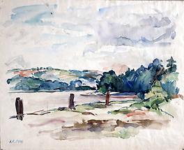 An der Oise bei Pontoise