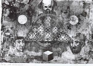 Alte Wortpyramide