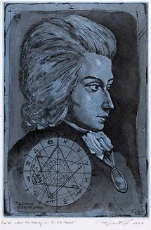 Mozart Sterbehoroskop