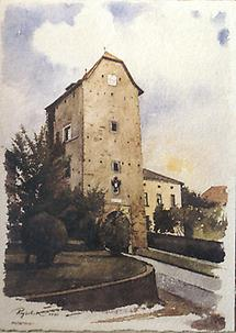 Alter Turm in Haslach korr