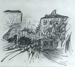 Blick auf Sacre Ceur Paris