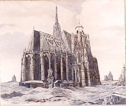 St.Stephan nach der Sintflut