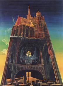 St.Stephan vierdimensional