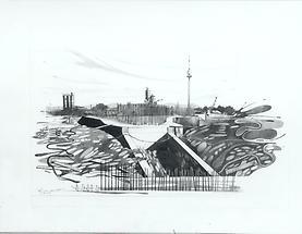 Bau der UNO City
