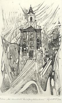 Die demolierte Rauchfangkehrerkirche