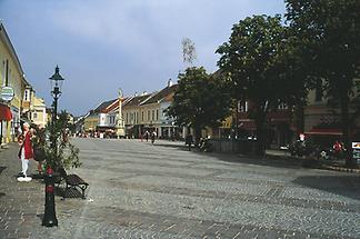 Stadtplatz in Eisenstadt Fußgängerzone