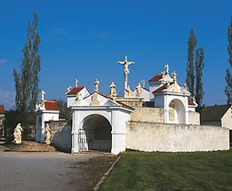 Kalvarienberg neben der Basilika