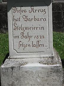 Statue Inschrift