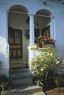 typischer Streckhof (heute Heimatmuseum)