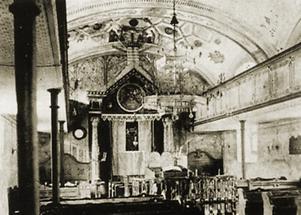 Ehemalige Synagoge 1910