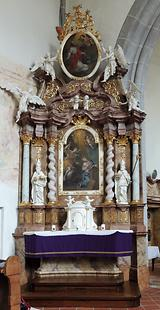 linker Seitenaltar
