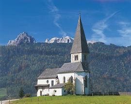 Bischofshofen - Buchbergkirche - Hochkönig