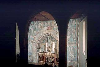 Mauterndorf - Blick in die Kapelle von Schloss Mauterndorf