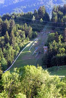 Achomitzer Skisprunganlagen