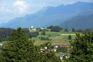 Gailtal Blick auf Hohenthurn
