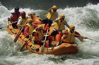 Rafting auf der Gail