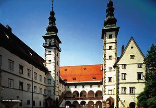 Klagenfurt Landhaus - Sitz der Landesregierung