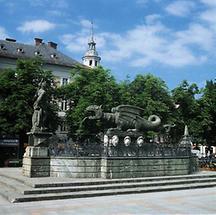 Klagenfurt Lindwurmbrunnen
